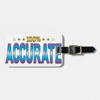 Accurate Star Tag v2 Luggage Tag