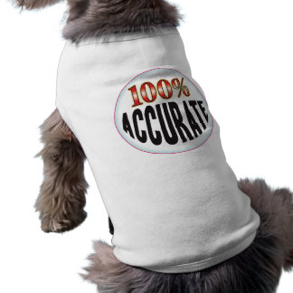 Accurate Tag Doggie T Shirt