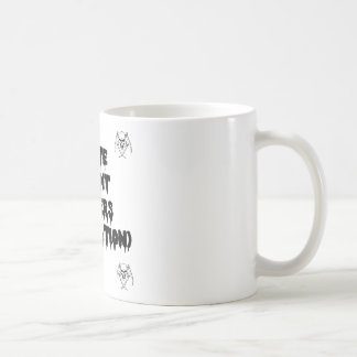 Accursed poet (IN WORMS AND DAMNATION) - Word Coffee Mug