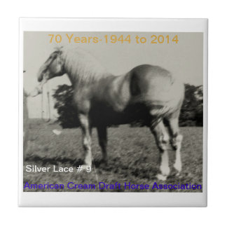 ACDHA Silver Lace anniversary tile
