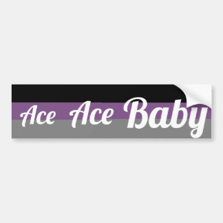 Ace, Ace Baby Asexual Bumper Sticker