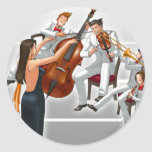 Ace Attorney Orchestra Classic Round Sticker