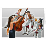Ace Attorney Orchestra Greeting Card