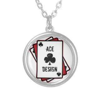 Ace Design Silver Plated Necklace