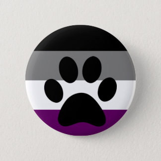 Ace furry 2 inch round button