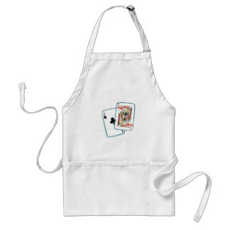Ace Jack Poker Playing Cards Blackjack Winner Hand Standard Apron