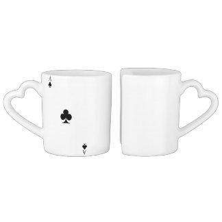 Ace of Clubs Coffee Mug Set