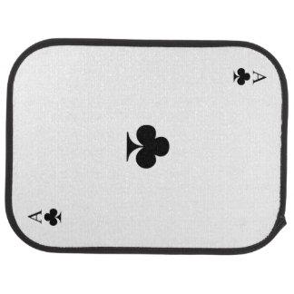 Ace of Clubs Floor Mat