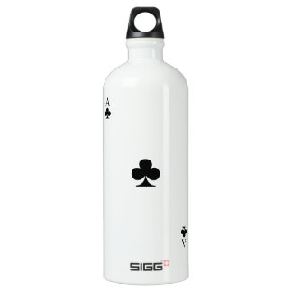 Ace of Clubs Water Bottle