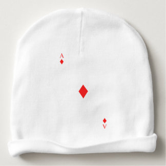 Ace of Diamonds Baby Beanie