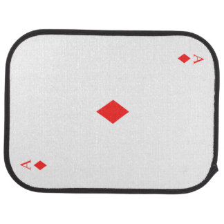 Ace of Diamonds Floor Mat