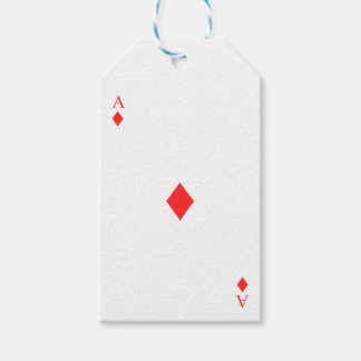 Ace of Diamonds Gift Tags