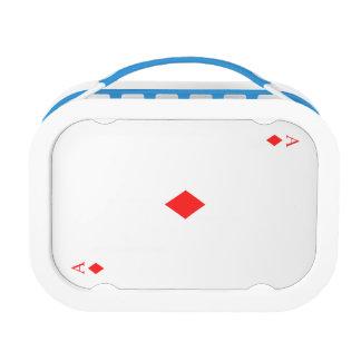 Ace of Diamonds Lunch Box