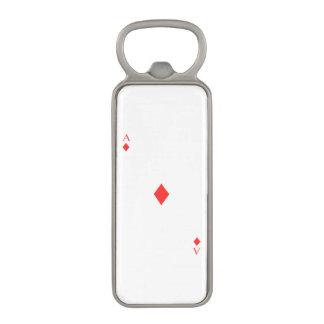 Ace of Diamonds Magnetic Bottle Opener