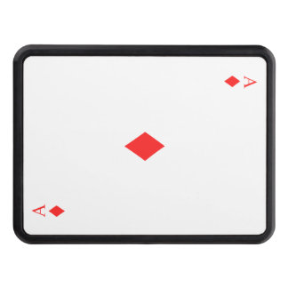 Ace of Diamonds Trailer Hitch Covers