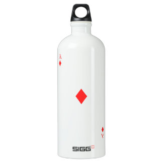 Ace of Diamonds Water Bottle