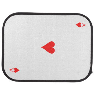 Ace of Hearts Car Liners