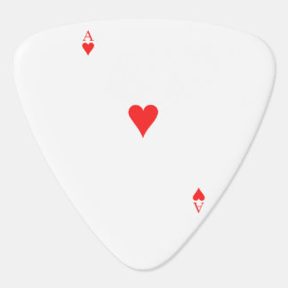 Ace of Hearts Guitar Pick
