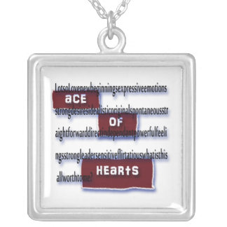 Ace of Hearts Meaning Necklace