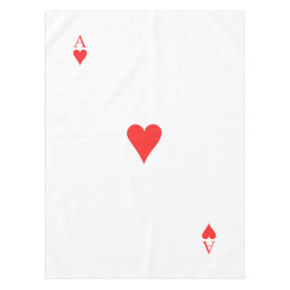 Ace of Hearts Tablecloth