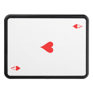 Ace of Hearts Trailer Hitch Cover