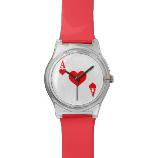 Ace of Hearts Wristwatch