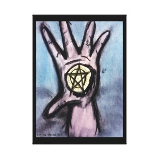 Ace of Pentacles Canvas Prints