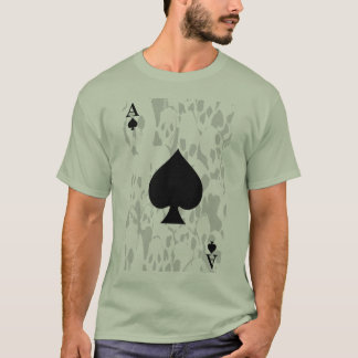 Ace of Spaces and Skull Shirt