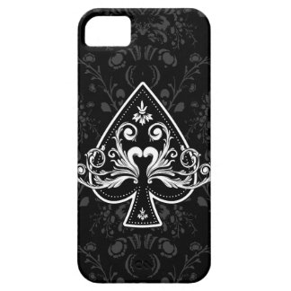 Ace of Spades Black iPhone5 case