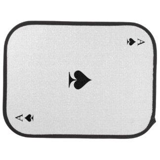 Ace of Spades Car Mat
