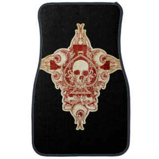 Ace of spades car mat