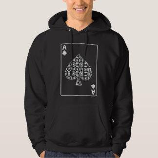 Ace Of Spades Card Hoodie Dark