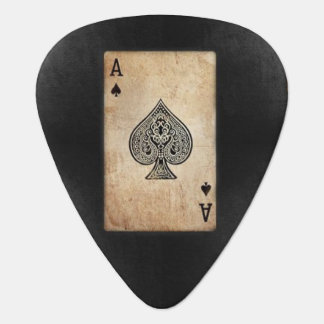 Ace of Spades Guitar Pick