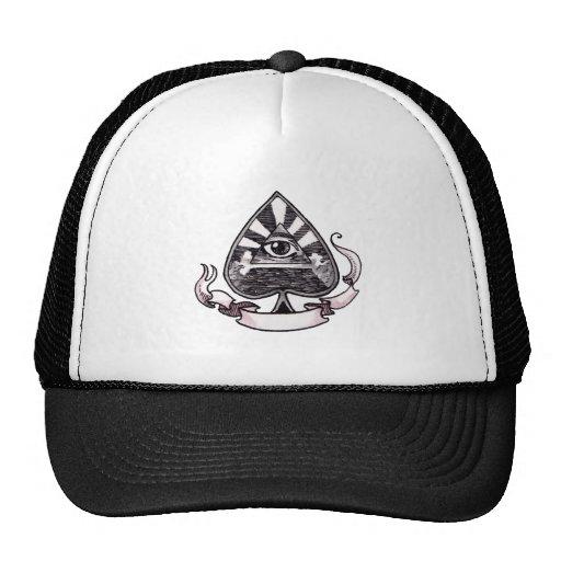 Ace of Spades Trucker Hats