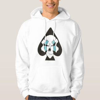 ace of spades hooded pullover