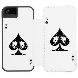 Ace of Spades Incipio Watson™ iPhone 5 Wallet Case