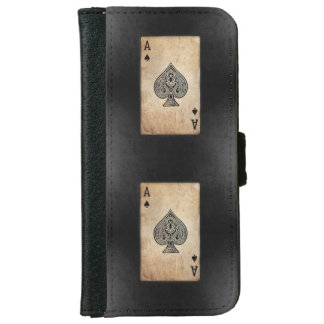 Ace of Spades iPhone 6 Wallet Case