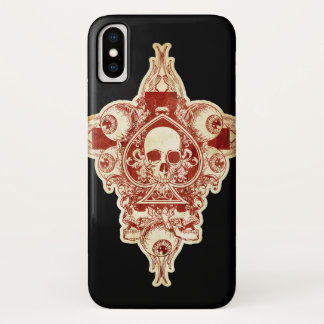 Ace of spades iPhone x case