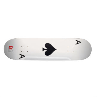 Ace of Spades Skate Board Deck