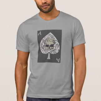 Ace of Spades Skull Frontal Design T-Shirt
