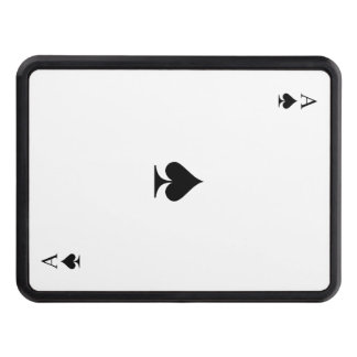 Ace of Spades Trailer Hitch Cover