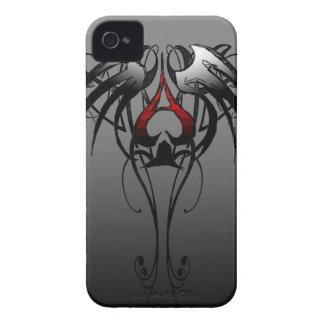 ace of spades tribal design Case-Mate iPhone 4 case