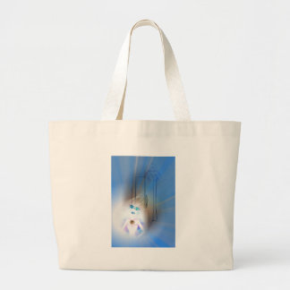 Ace Of Swords Large Tote Bag