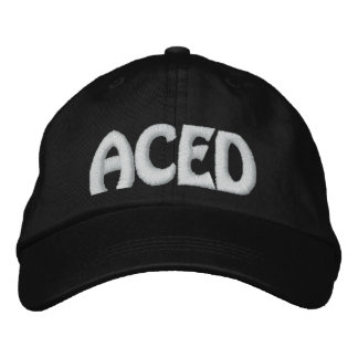 ACED EMBROIDERED HAT
