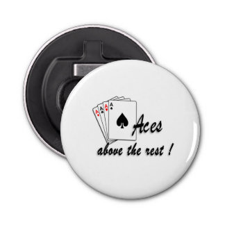 Aces Above the Rest Bottle Opener