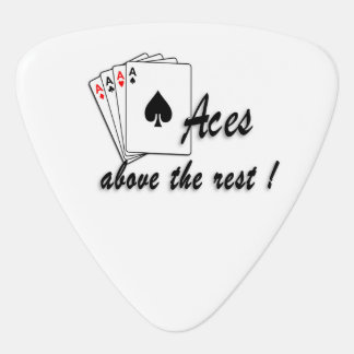 Aces Above the Rest Guitar Pick