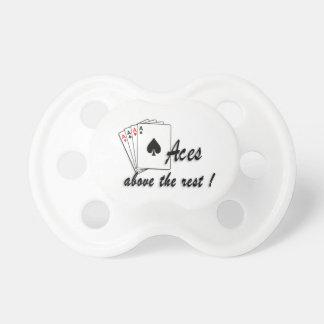 Aces Above the Rest Pacifier
