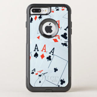 Aces In A Layered Pattern, OtterBox Commuter iPhone 8 Plus/7 Plus Case