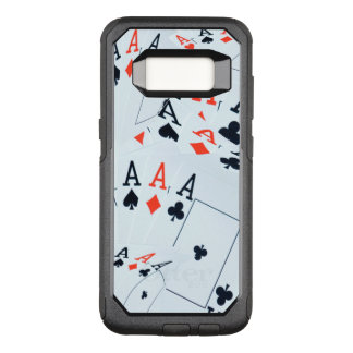 Aces In A Layered Pattern, OtterBox Commuter Samsung Galaxy S8 Case