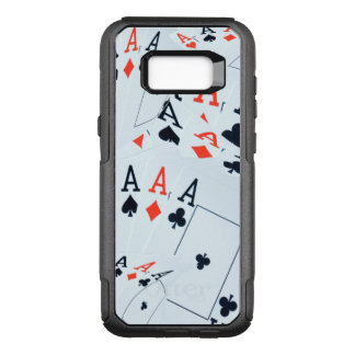 Aces In A Layered Pattern, OtterBox Commuter Samsung Galaxy S8+ Case